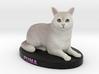 Custom Cat Figurine - Puma 3d printed