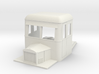 009 articulated railcar front part with bonnet  3d printed