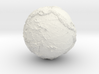"EARTH - 2"" diameter hollow world globe 3d printed"
