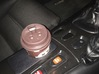 FD3S RX7 Cupholder Top Part Only 3d printed Grey Professional Plastic painted black with Krylon Fusion