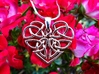 Heart Celtic Knot Pendant 3d printed