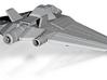 Stargate SG1 - Earths X302 [55mm Wingspan & Hollow 3d printed