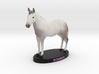 Custom Horse Figurine - Romeo 3d printed