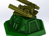 Turret Top MiniGun 3d printed Shown with a turret base - see other models