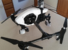 Inspire 1 GoPro mount 3d printed Black, strong and flexible